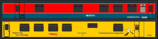 Mark 1 Overhead Line Inspection Coach Mentor - OO